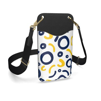 Leather Phone Case With Strap Nautical Finds