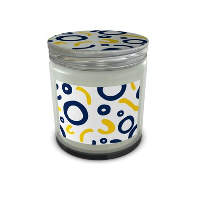 Set Candle In Jar Nautical Finds