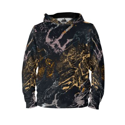 Rock and gold hoodie
