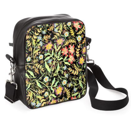 Midnight Meadows Cross Shoulder Bag