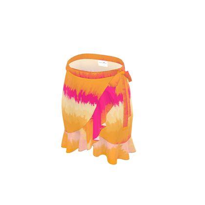 Flounce Skirt - Emmeline Anne Sunset Stripes