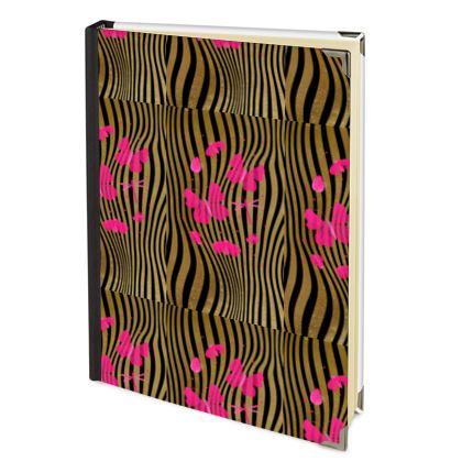 Address Book - Emmeline Anne Stripes and Butterflies