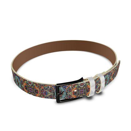 Leather Belt – Bead Bomb – #2