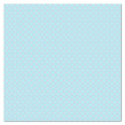 Blue tenderness - Tablecloth - elegant gift, soft, refined, female, geometric, romantic, airy, fresh, sweet, aerial, guipure - design by Tiana Lofd