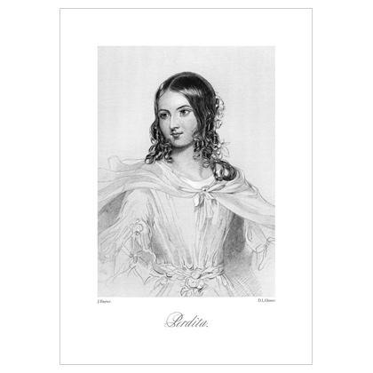 Perdita, Heroine of Shakespeare - A3 Print