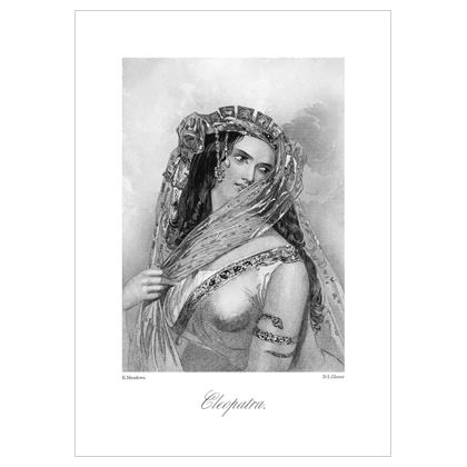 Cleopatra, Heroine of Shakespeare - A3 Print