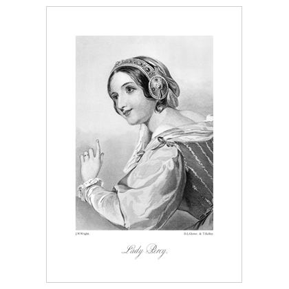Lady Percy, Heroine of Shakespeare - A3 Print