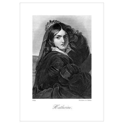 Katherine, Heroine of Shakespeare - A3 Print