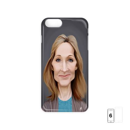 J.K Rowling Celebrity Caricature iPhone 6 Case