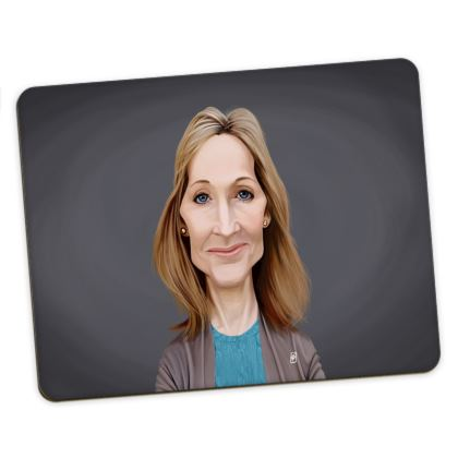 J.K Rowling Celebrity Caricature Placemats