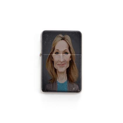J.K Rowling Celebrity Caricature Lighter