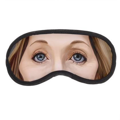 J.K Rowling Celebrity Caricature Eye Mask