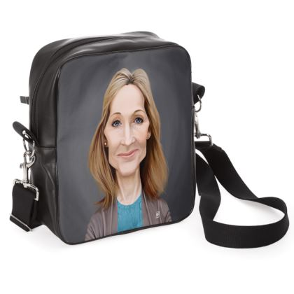 J.K Rowling Celebrity Caricature Shoulder Bag