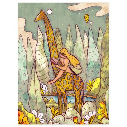 The giraffe and me
