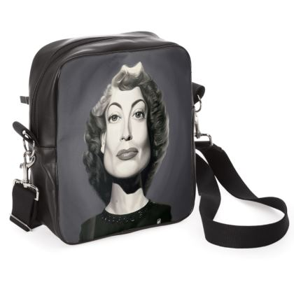 Joan Crawford Celebrity Caricature Shoulder Bag