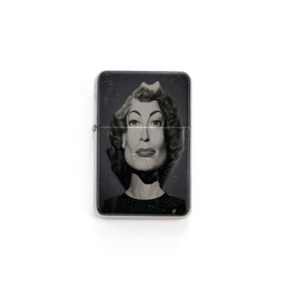 Joan Crawford Celebrity Caricature Lighter