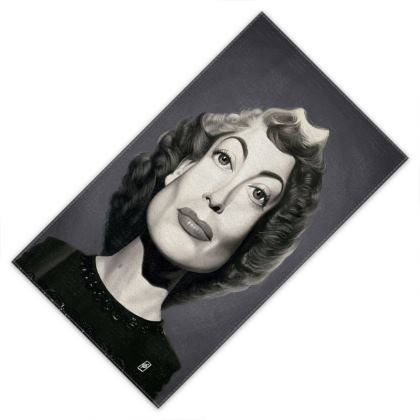 Joan Crawford Celebrity Caricature Towels