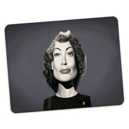 Joan Crawford Celebrity Caricature Placemats