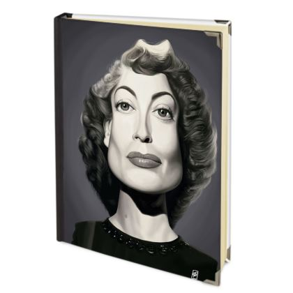 Joan Crawford Celebrity Caricature 2018 Deluxe Diary