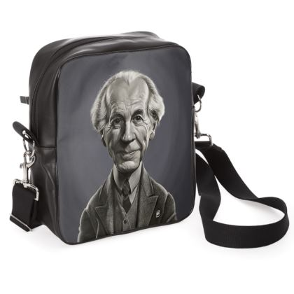 Frank Lloyd Wright Celebrity Caricature Shoulder Bag