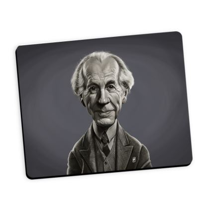 Frank Lloyd Wright Celebrity Caricature Mouse Mat
