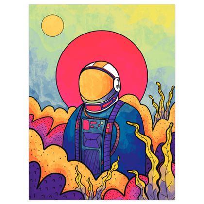 The planet explorer poster print