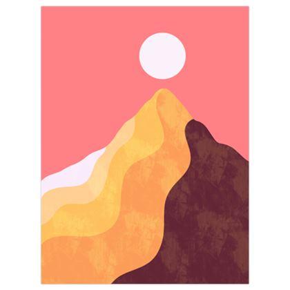Sand dune peak poster print