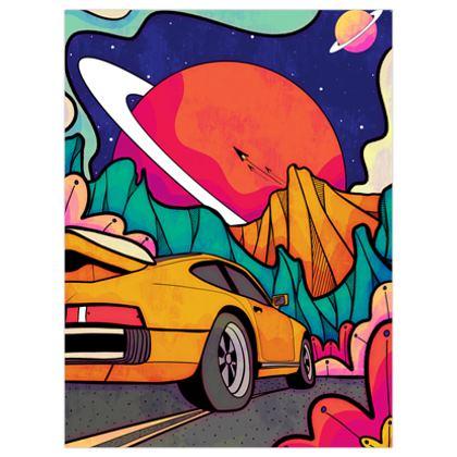Cosmic highway poster prints