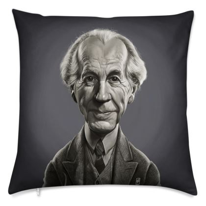 Frank Lloyd Wright Celebrity Caricature Cushion