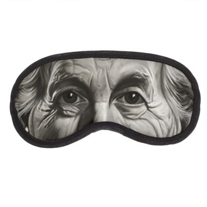 Frank Lloyd Wright Celebrity Caricature Eye Mask