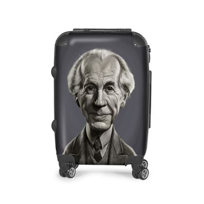 Frank Lloyd Wright Celebrity Caricature Suitcase