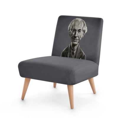 Frank Lloyd Wright Celebrity Caricature Occasional Chair