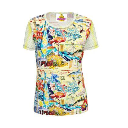 Ninibing34 DESIGNER Slim-Fit T-Shirt Size XS