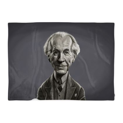Frank Lloyd Wright Celebrity Caricature Blanket