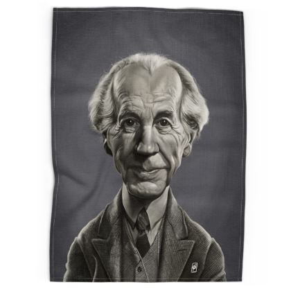 Frank Lloyd Wright Celebrity Caricature Tea Towels
