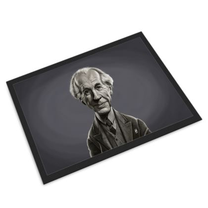 Frank Lloyd Wright Celebrity Caricature Door Mat