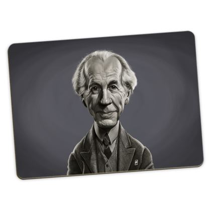 Frank Lloyd Wright Celebrity Caricature Large Placemats