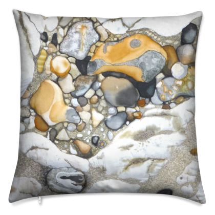 Sandy Rock Pool Cushion