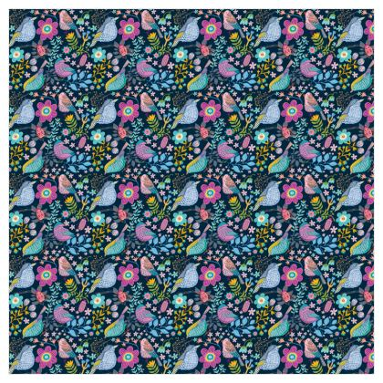 Birdgarden Night Fabric