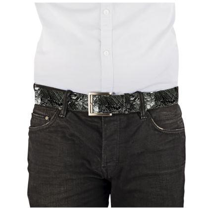 Usiku Leather Belt