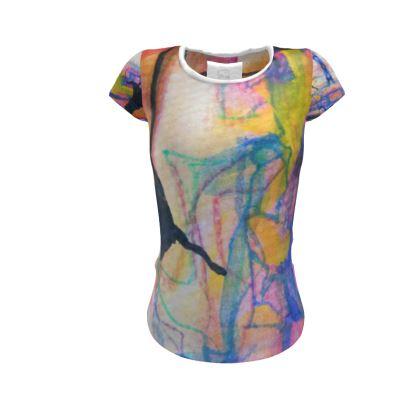 Lovers I-Ladies Cut and Sew T Shirt I