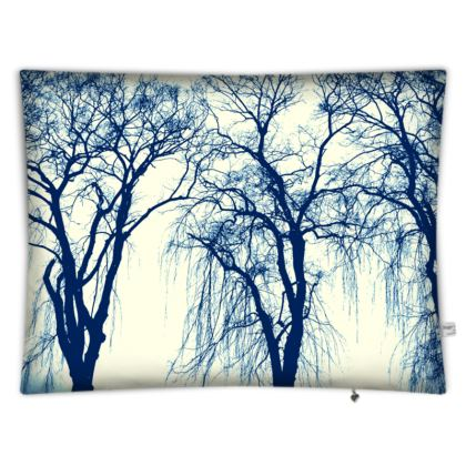 'Blue Trees' Floor cushion