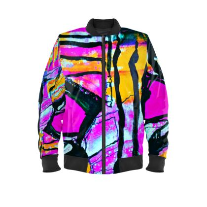 Funky Pop-Ladies Bomber Jacket I