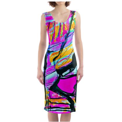 Funky Pop-Bodycon Dress II