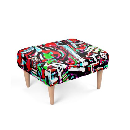 Funky Pop-Footstool II
