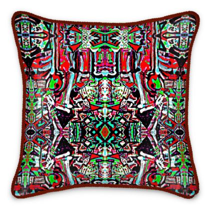 Funky Pop-Silk Cushion I