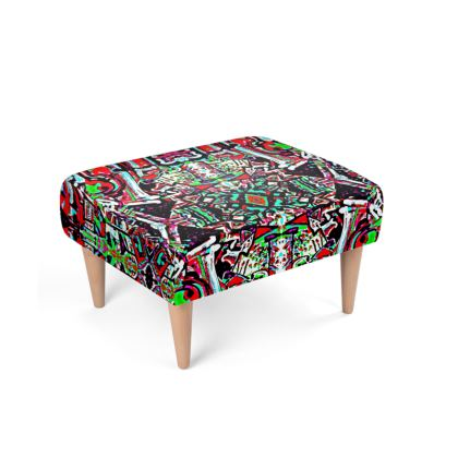 Funky Pop-Footstool III