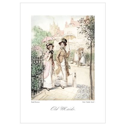 Old Maids, from Quality Street book - A3 print