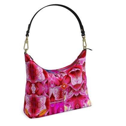 Quadratische HOBO-Bag Schultertasche