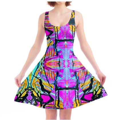 Funky Pop-Skater Dress II